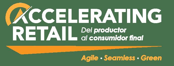 Logo Accelerating Retail. Del productor al consumidor final